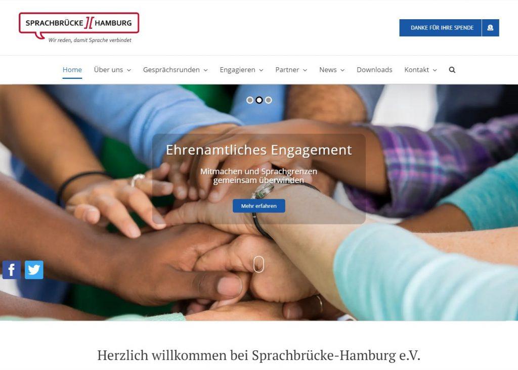 Home Seite von Sprachbrücke-Hamburg März 2020